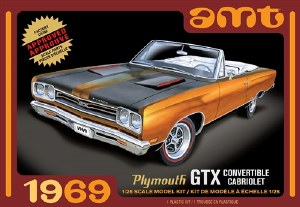 1:25 Scale 1969 Plymouth GTX Convertible Cabriolet - AMT1137
