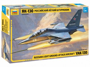 1:48 Scale Russian Light Ground-Attack Aircraft YAK-130 - ZV4821