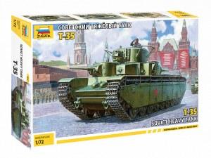 1:72 Scale Soviet Heavy Tank T-35 - ZV5061