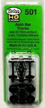 HO Scale #501 Arch Bar Trucks Metal Fully Sprung Equalized Trucks Mount