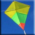 Diamond Tricolour Kite