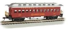 HO Scale 1860-1880 Wood Coach Durango & Silverton #270 - 13409
