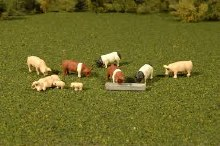 HO Scale Pigs - 33118