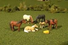 HO Scale Horses - 33119