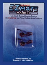 HO Scale Mark II Couplers w/Metal Coil Spring, Long Center Shank - 78024