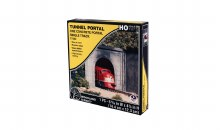 HO Scale One Concrete Portal Single Track - C1252