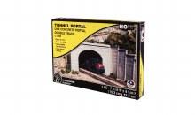 HO Scale One Concrete Portal Double Track - C1256