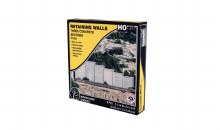 HO Scale Retaining Walls Three Concrete Sections - C1258