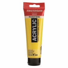Acrylic Azo Yellow (Light) Paint 120ml - 268