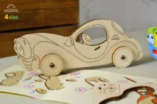 4Kids 3D Coloring Model Car - 203