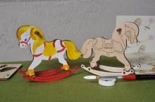 4Kids 3D Coloring Model Rocking Horse - 204
