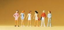HO Scale Teenage Girls - 14006