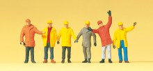 HO Scale Construction Workers - 14034