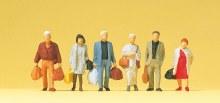 HO Scale Walking Travellers - 14070