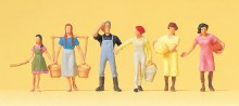 HO Scale On The Farm/Milking - 14083
