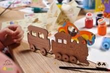 4Kids 3D Coloring Model Locomotive - 211
