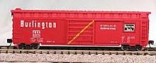 N Scale 50' Panel Boxcar Chicago, Burlington, & Quincy #1 - 223-8903