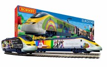 OO Scale The Beatles 'Yellow Submarine' Eurostar Train Set DCC Ready - R1253M