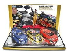 1:43 Scale Craig Lowndes' Career Supercars Wins Triple Set - 43673