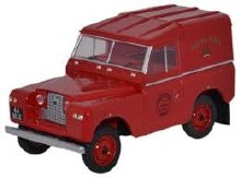 1:43 Scale Land Rover Series II SWB Hard Back Royal Mail - LR2S001