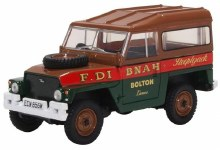 1:43 Scale Land Rover Lightweight Hard Top Fred Dibnah - 43LRL006