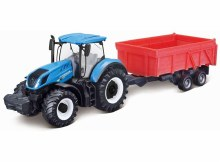 10cm New Holland Tractor T7.315 w/Tipping Trailer - 31658