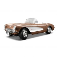1:18 Scale 1957 Chevrolet Corvette Bronze - 31139