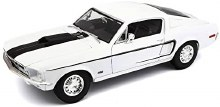 1:18 Scale 1968 Ford Mustang CJ Cobra Jet White - 31167