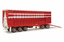 """1:64 Scale Livestock Trailer With Dolly """"Barkly"""" - 12986"""