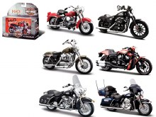 1:18 Scale Harley-Davidson Motorcycles Series 33 Assortment - 313633