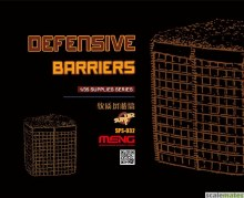1:35 Scale SPS-032 Defensive Barriers - 38551125