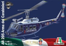 1:48 Scale AB 205 Arma Dei Carabinieri 1814-2014 - 2739