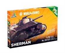 1:72 Scale Sherman WoT Easy to Build - 34101