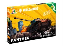 1:72 Scale Panther WoT Easy to Build  - 34104