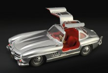 1:16 Scale Mercedes-Benz 300SL Gullwing - 3612