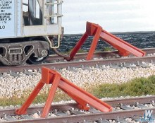 HO Scale North American Style Code 83 Hayes Bumper Kit (2) - SL8340