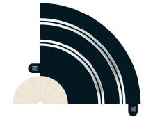 Radius 1 Hairpin Curve 90° - C8201