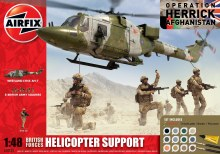 1:48 Scale British Forces Helicopter Support Model Set - 50122