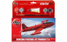 1:72 Scale Hunting Percival Jet Provost T.4 Starter Set - 55116