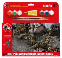 1:32 Scale WWII German Infantry Multipose Starter Set - 55210