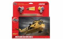 1:72 Scale Westland Sea King HAR.3 Starter Set - 55307A