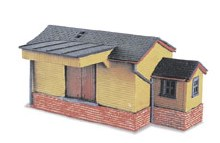 N Scale Goods Shed Wooden - NB6