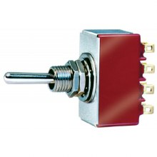 Four Pole Double Throw Toggle Switch - PL21