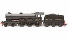 OO Scale BR, B12 Class, 4-6-0, 61556 Era 4 DCC Ready - R3545