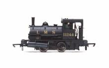 OO Scale LMS, Class 21 'Pug', 0-4-0ST, 11244 Era 3 - R3727