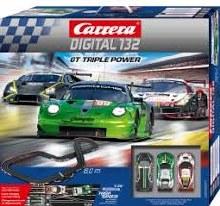 Digital132 GT Triple Power Slot Car Set - 30007