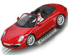 Evolution Porsche 911 S Cabriolet Red - 277534