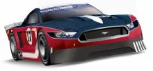 """Digital132 Ford Mustang GTY """"No.17"""" - 30939"""