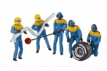 Evo/Digital Set Of Figures, Mechanics (Blue) - 21132