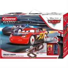Go!!! Cars - Rocket Racer Slot Car Set - 62518